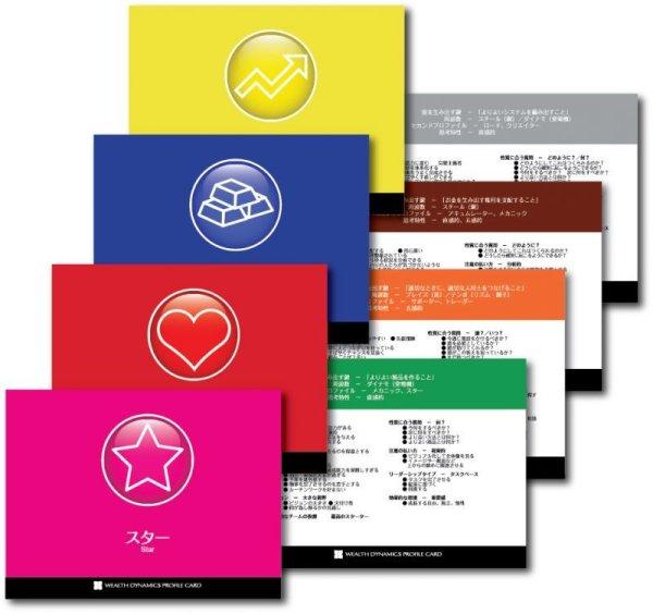 画像1: 【グッズ】プロファイルカード 8種類1セット(各プロファイル1枚に要点をまとめたカード) (1)